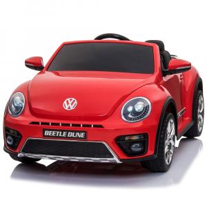 Masinuta electrica Chipolino Volkswagen Beetle Dune red0