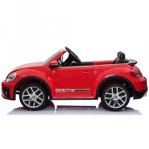 Masinuta electrica Chipolino Volkswagen Beetle Dune red2