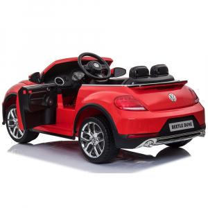 Masinuta electrica Chipolino Volkswagen Beetle Dune red9