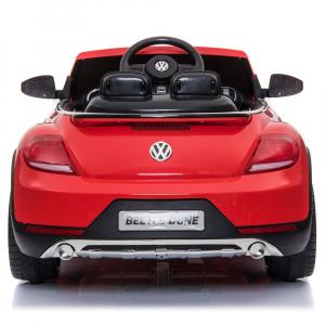 Masinuta electrica Chipolino Volkswagen Beetle Dune red4
