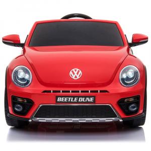 Masinuta electrica Chipolino Volkswagen Beetle Dune red1