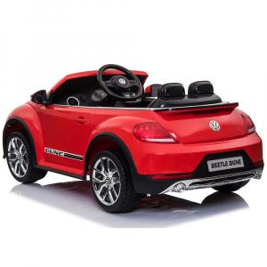 Masinuta electrica Chipolino Volkswagen Beetle Dune red3