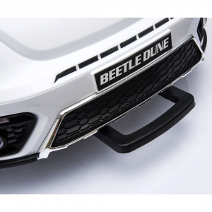 Masinuta electrica Chipolino Volkswagen Beetle Dune white [30]