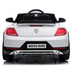 Masinuta electrica Chipolino Volkswagen Beetle Dune white [6]
