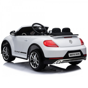 Masinuta electrica Chipolino Volkswagen Beetle Dune white [5]