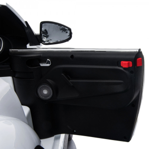 Masinuta electrica Chipolino Volkswagen Beetle Dune white [25]