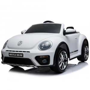 Masinuta electrica Chipolino Volkswagen Beetle Dune white [14]