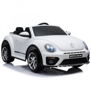Masinuta electrica Chipolino Volkswagen Beetle Dune white [7]