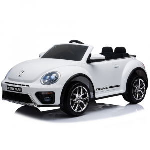 Masinuta electrica Chipolino Volkswagen Beetle Dune white [3]