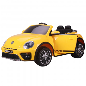 Masinuta electrica Chipolino Volkswagen Beetle Dune yellow0