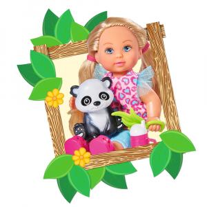 Papusa Simba Evi Love 12 cm Baby Safari cu figurine si accesorii [3]