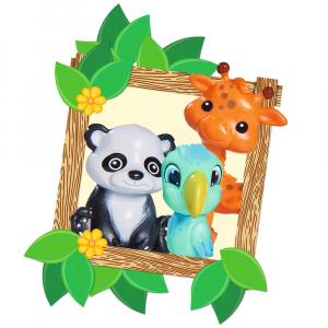 Papusa Simba Evi Love 12 cm Baby Safari cu figurine si accesorii [2]