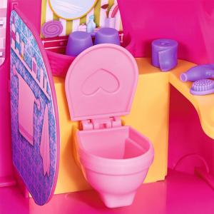 Papusa Simba Evi Love 12 cm Holiday Camper cu rulota si accesorii5