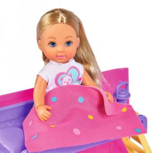 Papusa Simba Evi Love 12 cm Holiday Camper cu rulota si accesorii6