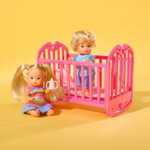 Papusa Simba Steffi Love 29 cm Baby World cu 2 copii, 1 bebelus si accesorii3