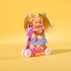 Papusa Simba Steffi Love 29 cm Baby World cu 2 copii, 1 bebelus si accesorii5
