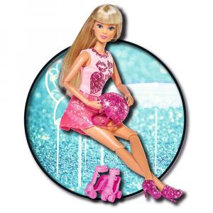 Papusa Simba Steffi Love Glitter Skates 29 cm cu accesorii1