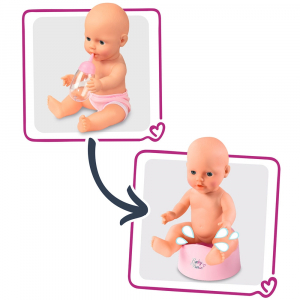 Patut Co-Sleeper pentru papusi Smoby Baby Nurse 2 in 13