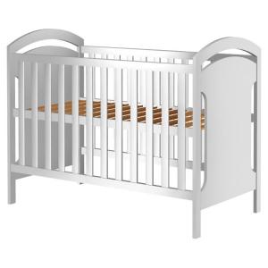 Patut copii din lemn Hubners Hansell 120x60 cm alb [0]