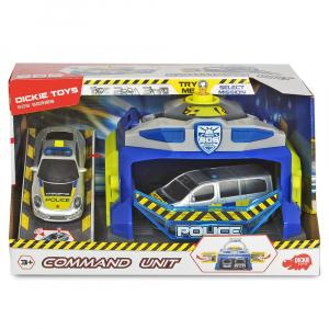 Pista de masini Dickie Toys Command Unit cu 2 masini [1]