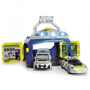 Pista de masini Dickie Toys Command Unit cu 2 masini [0]