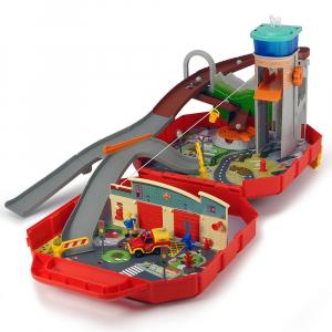 Pista de masini Dickie Toys Fireman Sam Ponty Pandy0