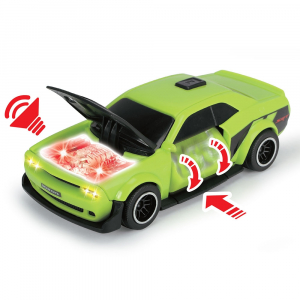 Pista de masini Dickie Toys Prison Break cu 2 masini4