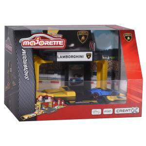 Pista de masini Majorette Creatix Showroom cu 1 Masinuta Lamborghini [1]