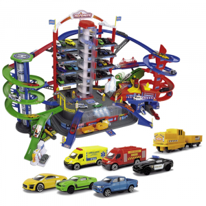 Pista de masini Majorette Super City Garage0