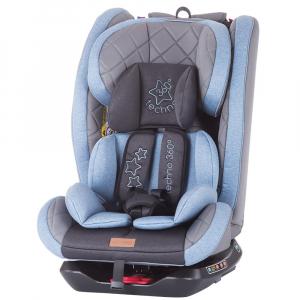 Scaun auto Chipolino Techno 0-36 kg blue cu sistem Isofix0