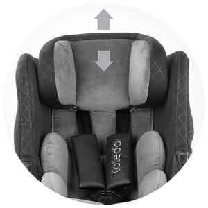 Scaun auto Chipolino Toledo 0-18 kg ash cu sistem Isofix si sezut rotativ [6]