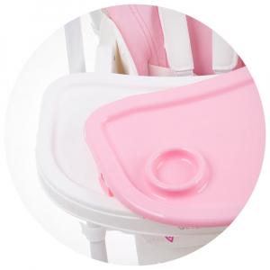 Scaun de masa Chipolino Gelato rose pink5