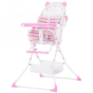 Scaun de masa Chipolino Maggy pink bear0