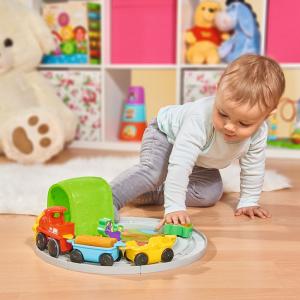 Set Simba Tren ABC Roll'n Rail cu sina circulara si accesorii [4]