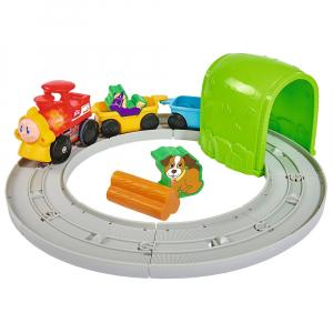 Set Simba Tren ABC Roll'n Rail cu sina circulara si accesorii [1]