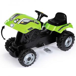 Tractor cu pedale si remorca Smoby Farmer XL verde [3]