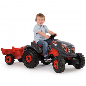 Tractor cu pedale si remorca Smoby Stronger XXL4