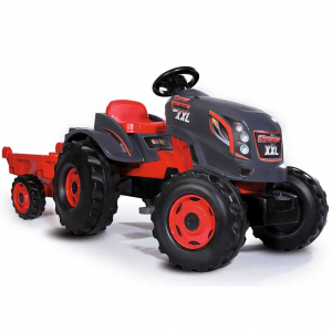 Tractor cu pedale si remorca Smoby Stronger XXL0