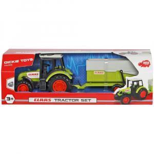 Tractor Dickie Toys Class Celtis 446 RX cu remorca2