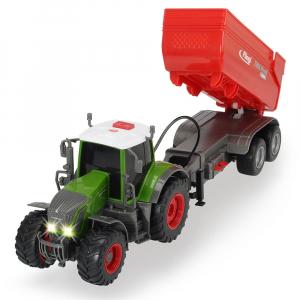 Tractor Dickie Toys Fendt 939 Vario cu remorca [1]