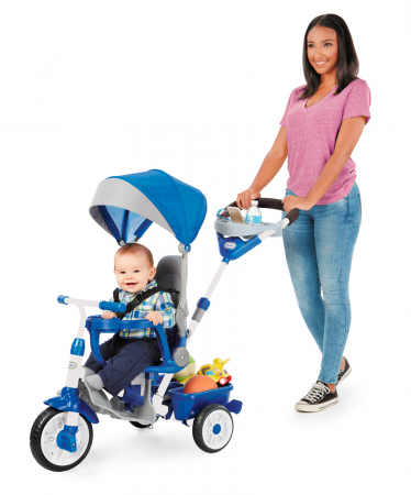 Jucarii Little Tikes – Tricicleta Perfect Fit 4In1 Albastra0