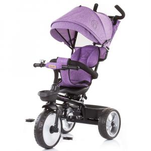 Tricicleta Chipolino Tempo purple linen [0]