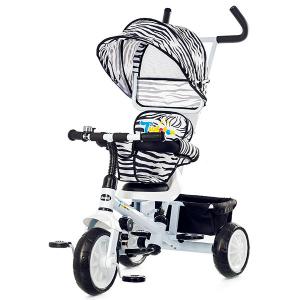 Tricicleta cu copertina si sezut reversibil Chipolino Twister white 2015 [0]