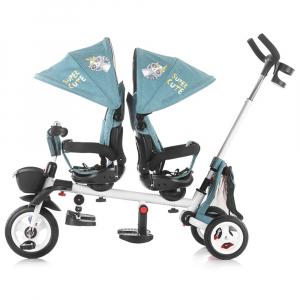 Tricicleta gemeni Chipolino 2Fun grey4