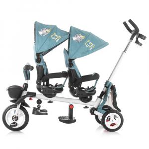 Tricicleta gemeni Chipolino 2Fun grey5