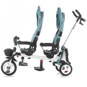 Tricicleta gemeni Chipolino 2Fun grey2