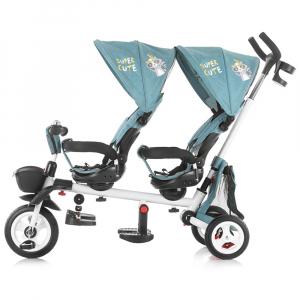 Tricicleta gemeni Chipolino 2Fun ocean2