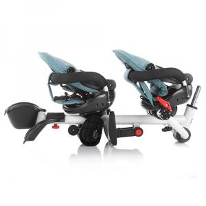 Tricicleta gemeni Chipolino 2Fun ocean8