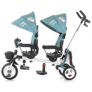 Tricicleta gemeni Chipolino 2Fun ocean1