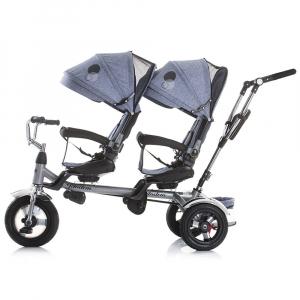 Tricicleta gemeni Chipolino Tandem multicolor2
